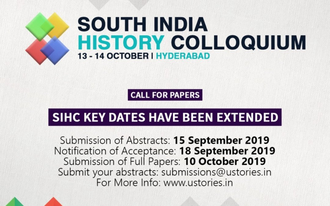 Remembering Histories Asserting Identities, SIO announced South India History Colloquium