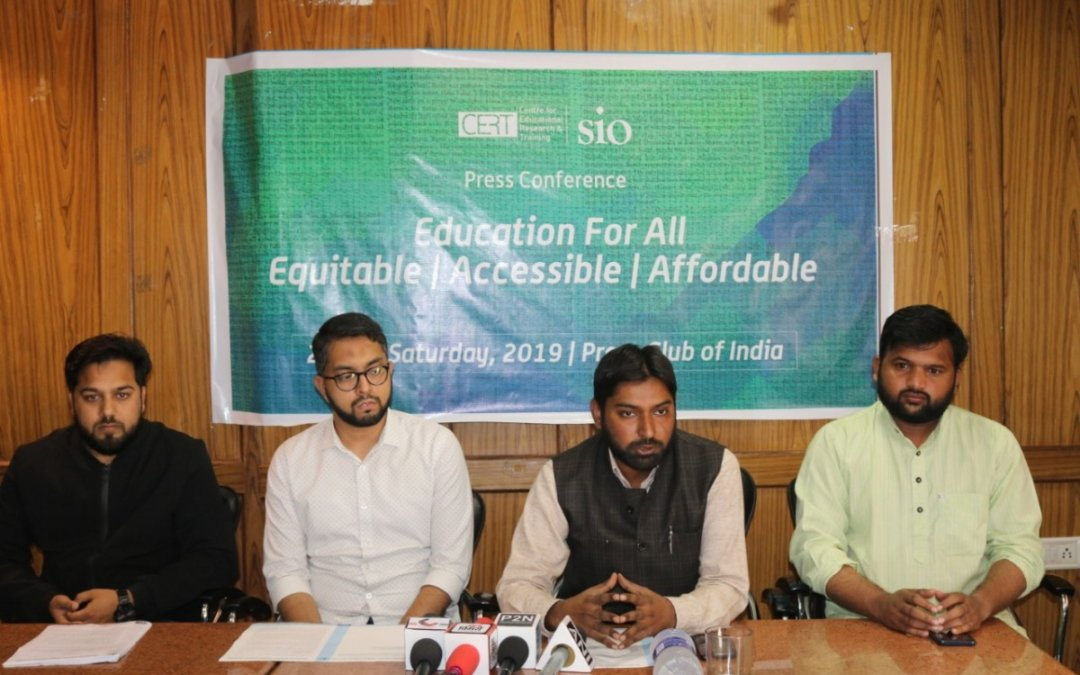 Education System of India is on Death Bed : Azharuddin (General Secretary SIO of India)